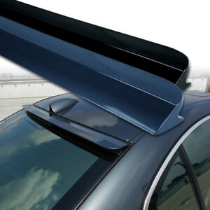 Fyralip Custom Painted Roof Spoiler F For Mercedes-Benz C Class W205 Coupe 15-17