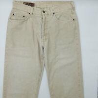 Marlboro Classics Pasadena 301 W32 L34 beige Designer Denim Herren Vintage Jeans