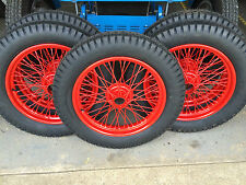 MG TC Wire Wheels  -  TUDOR WHEELS  CLASSIC WHEEL REFURBISHMENT