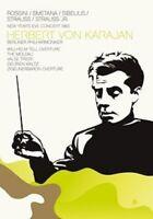HERBERT VON KARAJAN - NEW YEAR'S EVE CONCERT 1983  DVD NEU ROSSINI,G./SIBELIUS