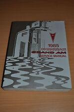 Werkstatthandbuch GM Pontiac Grand Am LE 1985 Service Manual