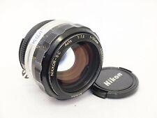 Nikon Nikkor S.C 55mm F1.2 AI-Converted Prime Lens. Stock No u9934