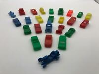 Lot of 25 Vintage Marx MPC Miniature Automobiles Cars All Different 60's 70's