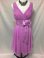 BNWT Grace Karin purple special occasions dress size 14