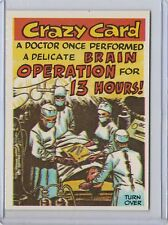 1961 Topps Crazy Card #66---A Doctor---