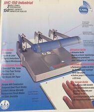 CARL Manufacturing 63150 XHC-150 Heavy Duty 150 Sheet 3 Hole Punch