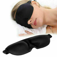 Black 3D Eye Mask Sleeping Goggles Sleep Mask Blindfold 2020 For Travel I5R4