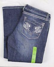 Women's Wrangler Rock 47 Low Rise Jeans, WHX91SP, Size 7/8 x 32, Blue, (WJ2)