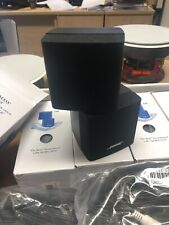 bose lifestyle acoustimass double cube speakers x 2 good condition