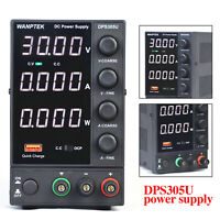 DC Power Supply Variable, 4 digital LCD display (0-30V/0-5A) 150W Switching USA