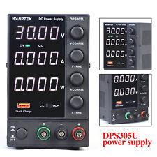 0 30v 0 5a Variable Power Supply Dc Bench Power Supply 4 Digital Tube Dps305u