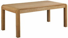 Oak Extending Dining Table Seats 8|Rectangular Wooden Dining Table 140/180cm