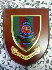 Regimental Plaque / Shield - Kings Regiment