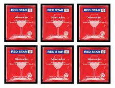 6PK RS CLASSIQUE WINE YEAST FORMERLY RED STAR MONTRACHET FOR REDS DARK BERRIES