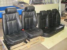 Lederausstattung  Ledersitze Sitze / BMW E38  / Leder  schwarz / manuell / Bj.96