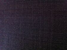 DARK BLUE 100% WOOL SUITING FABRIC ONE YARD/SEWING SUPPLIES/Suitable for Jackets
