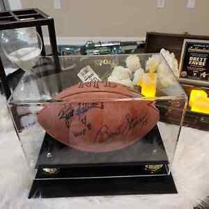 BRETT FAVRE/BART STARR SIGNED/AUTOGRAPHED OFFICIAL NFL FOOTBALL TRISTAR