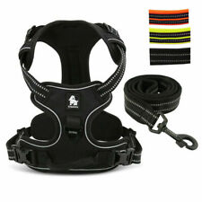 Truelove No Pull Dog Harness and Leash Reflective Adjustable Small Large Bulldog