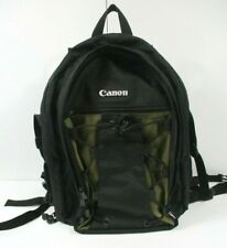Canon 200 Eg Deluxe Backpack for Camera & lenses / Ex Condition / Black & Olive