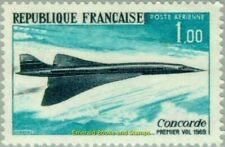 EBS France 1969 Airmail - First flight of Concorde YT PA43 MNH**