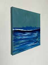Shane Townley art painting originalCONTEMPORARY oil IMPRESSIONISM Ocean Waves