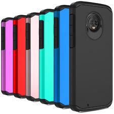 For Motorola Moto E6 E5 Plus G6 Play G7 Power Case Shockproof Hybrid Armor Cover