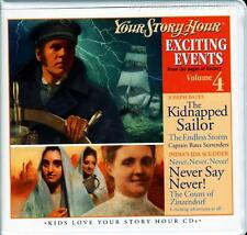 New YOUR STORY HOUR EXCITING EVENTS Series Volume 4 Audio 6 CD Set Homeschool