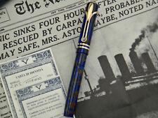 VISCONTI RMS Titanic Limited Edition Fountain Pen #1142/1912 M Nib 18k - 750