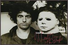 4x6 SIGNED AUTOGRAPH PHOTO REPRINT of Nick Castle Halloween Michael Myers