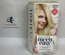 (FE) 1 Clairol Nice 'n Easy Permanent Hair Dye 11C Ultra Light Cool Blonde New