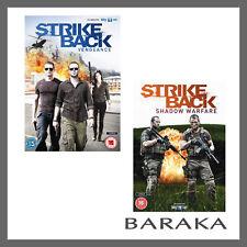 Strike Back Vengeance & Shadow Warfare Season 3 & 4 DVD New Chris Ryan