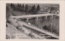 RPPC,Tonasket,Washington,Entrance to Town,Bridge,Okanogan County,c.1950s