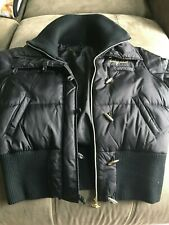 Baby Phat  Black Puffy Jacket Coat - Down Feathers Filler  XLarge