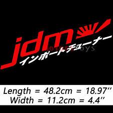 New Style Vinyl Car Sticker Decal JDM Rising Sun Japanese Kanji Performance