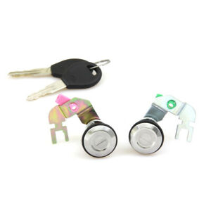 DOOR LOCK CYLINDER 2-Pcs. FIT NISSAN DATSUN 720 NAVARA HARDBODY D21 UTE 91-1997'