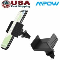 Mpow Car Mount Holder Stand Air Vent Cradle For iPhone Samsung Cell Phone GPS