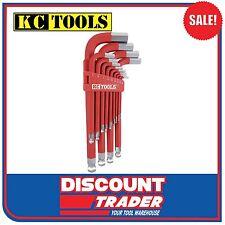 KC Tools Allen Key Jumbo Hex Key Wrench Set 13 Piece Imperial - 10615