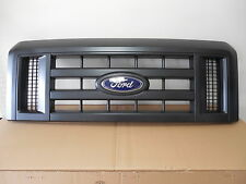 Ford Econoline E150 E250 E350 Van Black Grille with Emblem New OEM 8C2Z 8200 B