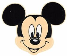 "Mickey Mouse Head Shot 3 1/2"" Tall Iron on PATCH"