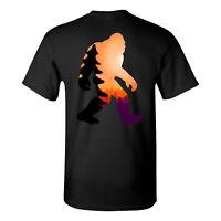 Sasquatch Mountain Mythical Bigfoot Urban Legend Creature T Shirt Tee
