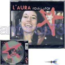 "L'AURA BELA ""RADIO STAR"" RARO CDsingolo + VIDEO - SIGILLATO"