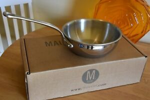 Mauviel 1830 M'Cook 20cm Curved Splayed Sautepan - Used a few times - No. 1 of 2