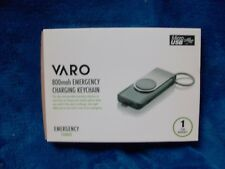 Varo 800mAh Emergency Charge Keychain PowerBank - Micro USB FREE FAST SHIPPING