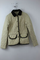 BARBOUR Beige Quilted Jacket size Uk 8