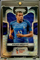 2018 Prizm World Cup Black & Gold Wave Kylian Mbappe RC! France Very Rare SP!