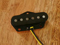 GUITAR BRIDGE HYBRID PICKUP VINTAGE TONE MIXED ALNICO 5/2 MAGNETS FOR TELECASTER