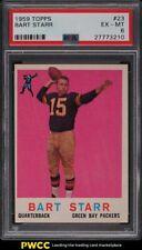 1959 Topps Football Bart Starr #23 PSA 6 EXMT
