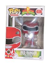 FUNKO Pop TV: Power Rangers - Red Ranger Action Figure