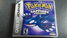 Pokemon Sapphire Gameboy Advance Case ONLY NO GAME