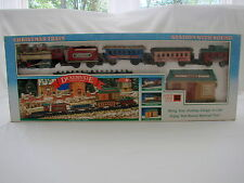 Vintage Dickensville Collectables Christmas Train Battery Operated by New Bright